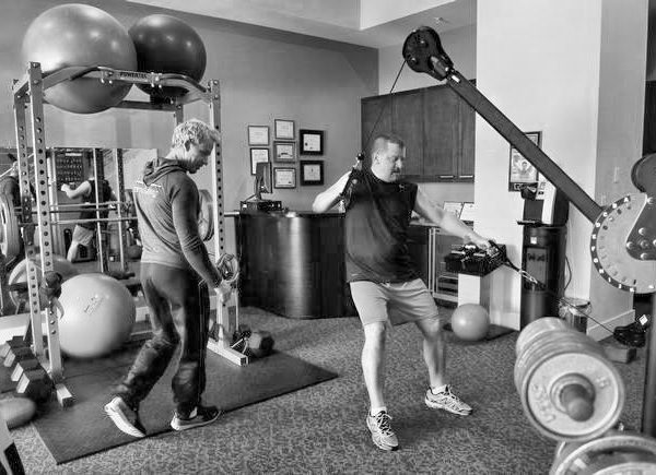 Gregg Hoffman training Andrew Rapp Denver Post
