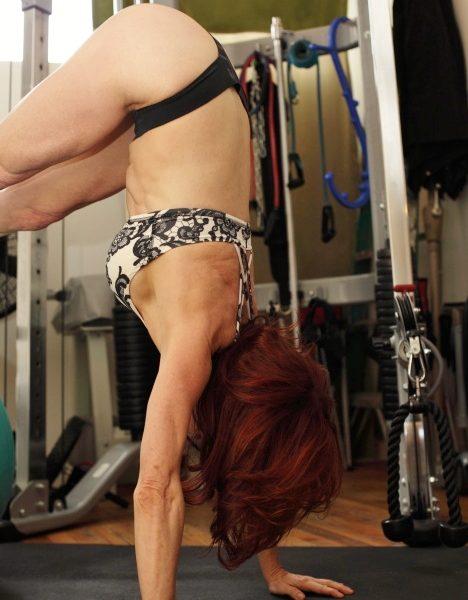 Sharon Hoffman push-up hip flexion